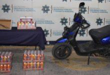 Policía Municipal, asaltantes, Puebla, SSC, robo, DERI, FGE, motocicleta, Bulevar Municipio Libre
