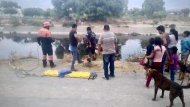Cadáver, dren de Valsequillo, Xochimilco, Tecamachalco, Protección Civil Municipal, Fiscalía General del Estado, signos de violencia