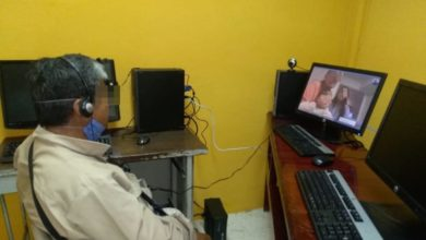 Videollamadas, familiares, SSP, Cereso, Centro de Reinserción Social, COVID-19, voronavirus, mejor comportamiento, Estados Unidos