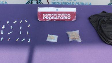 Secretaría de Seguridad Ciudadana, droga, San Miguel Canoa, marihuana, heroína, cristal, piedra, Agente del Ministerio Público
