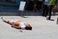 """Tehuacán, ejecutan, hecho violento, arma de fuego, """"El Negro"""", Guardia Nacional, Fiscalía General, cadáver, manifestación"""
