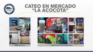 Narcomenudistas, mercado La Acocota, Fiscalía General del Estado, Secretaría de Seguridad Pública Estatal, marihuana, máquinas tragamonedas, biodiversidad