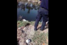 cadáver, caída, canal de Valsequillo, Protección Civil Municipal, Policía Municipal, Código Rojo, Nota Roja, Puebla, Noticias