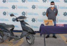 SSC, motociclista, detención, arma de fuego, portación, ilegal, Ministerio Público, Código Rojo, Nota Roja, Puebla, Noticias