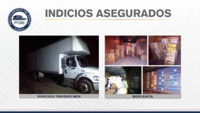 "FGE, Zapotitlán, botellas de aceite, licuadoras, microondas, pantallas, ""El Infiernillo"", robo, camión"