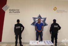 El Cachibombo, detenido, narcomenudeo, La Cuchilla, Código Rojo, Nota Roja, Puebla, noticias