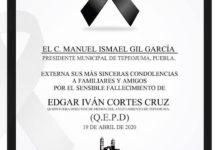 Tepeojuma, director, comunicación, edil, motocicleta, accidente, Código Rojo, Nota Roja, Puebla, Noticias