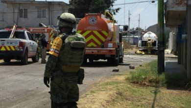 fuga pipa, gas LP, San Aparicio, Sedena, Protección Civil, Código Rojo, Nota Roja, Puebla, noticias
