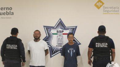 detenidos, El Demon, El Brux, Los Pelones, Hemafia, San Felipe Hueyotlipan, Código Rojo, Nota Roja, Puebla, Noticias