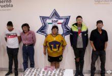 detenidos, integrantes, banda delictiva, El Moy, El Grillo, El Julio Mix, droga, narcomenudeo, Código Rojo, Nota Roja, Puebla, Noticias