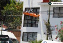 pintar, fachada, accidente, joven, muerto, Protección Civil, FGE, Colonia El Vergel, Código Rojo, Nota Roja, Puebla, Noticias