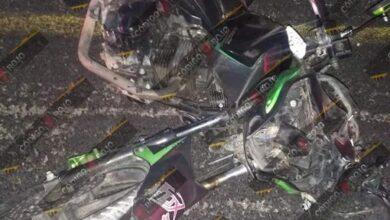 motociclista, muerto, choque , poste, Periférico Ecológico