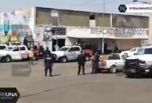 La Acocota, mercado, despligue, operativo, SSP, combate, narcomenudeo, Código Rojo, Nota Roja, Puebla, noticias