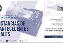 expedición, constancias, antecedentes no penales, medidas preventivas, FGE, Código Rojo, nota Roja, Puebla, Noticias