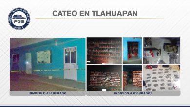 cateo, Tlahuapan, aseguramiento, droga, tráiler, mercancía robada, drogas, FGE, Código Rojo, Nota Roja, Puebla, Noticias