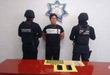 """Policía Estatal, """"La Mafia de Analco"""", droga, narcomenudista, """"El Carnes"""", teléfonos celulares, cocaína,"""