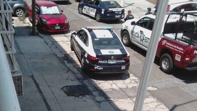 Vecinos, delincuente, chapa, domicilio, colonia La Paz, Policía Municipal, Policía Estatal, escalera