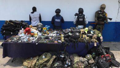 La Fayuca, operativo, aseguramiento, mercancía, réplicas, armas de fuego, Ejército Mexicano, Fuerza Aérea, SEGOM, SSC, Código Rojo, Nota Roja, Puebla, Noticias