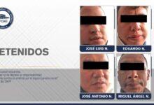 detenidos, cuatro, Lomas de Angelópolis, camionetas, FGE, aseguramiento, Código Rojo, Nota Roja, Puebla, Noticias