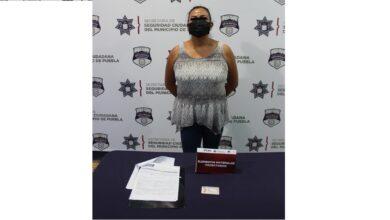 mujer, identificación, falsa, fraude, SSC, Código Rojo, Nota Roja, Puebla, Noticias