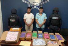 Walmart, Ciudad Judicial, asaltantes, detenidos, cocaína, Código Rojo, Nota Roja, Puebla, Noticias