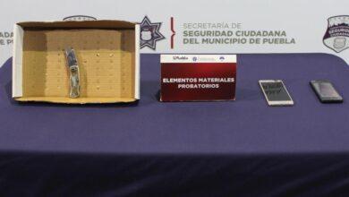 Policía Municipal, robo, transporte público, Unidad Canina, telefonía móvil, objeto punzocortante, Ministerio Público