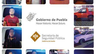 Arrancones, Policía Estatal, Policía Municipal, detenidos, unidades aseguradas, Tehuacán, Código Rojo, Nota Roja, Puebla, noticias