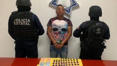 El Vocho, El Grillo, Carolina, La Patrona, narcomenudeo, tortura, posesión, arma de fuego, Código Rojo, Nota Roja, Puebla, noticias