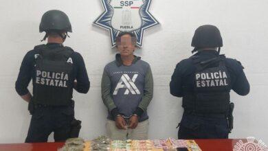 detenidos, El Moi, Alan, El Charly, hermano, cocaína, marihuana, celular, El Jabalí, Los Hojalateros, Código Rojo, Nota Roja, Puebla, noticias