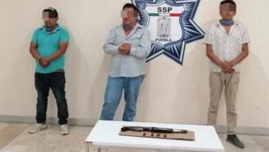 Los Colorados, detenidos, Amozoc, escopeta, cocaína, Código Rojo, Nota Roja, Puebla, Noticias
