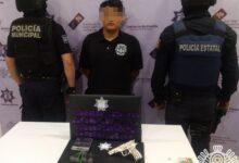 hombre, detenido, trabajador, El Cristian, Tehuacán, cristal, cocaína, Código Rojo, Nota Roja, Puebla, Noticias