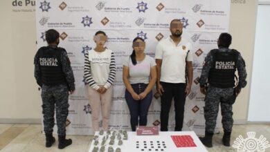 Colombia, personas, gota a gota, esquema, detenidos, droga, Código Rojo, Nota Roja, Puebla, noticias