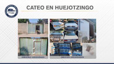 Santa Ana Xalmimilulco, Huejotzigno, cateo, inmueble, Código Rojo, Nota Roja, Puebla, Noticias