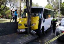 Operador, microbús, exceso de velocidad, ruta 68, bulevar 5 de Mayo, LESIONADOS, Policía Turística, paramédicos de SUMA, Protección Civil Municipal
