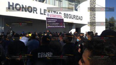 exigencia, incremento salarial, SSP, elementos, viabilidad, manifestación, entidad, Código Rojo, Nota Roja, Puebla, Noticias