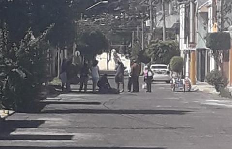 Sujetos armados, automóvil, colonia Ciudad Satélite, servicios de emergencia, Policía Municipal,
