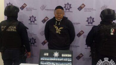 El Bigshow, Tehuacán, detenido, narcomenudeo, Código Rojo