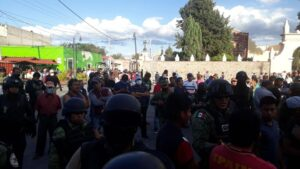 elementos, SSP, confusión, ladrones, linchamiento, amagar, rescate, San Andrés Cholula, Puebla, Código Rojo