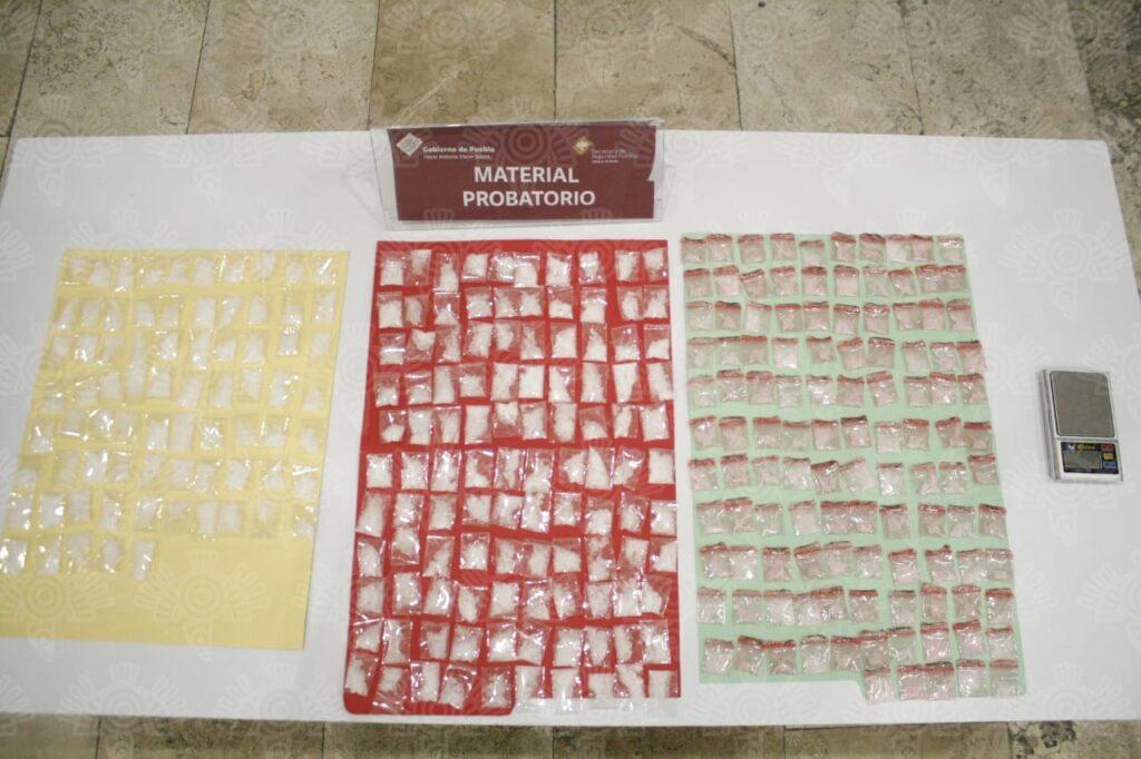Los Michoacanos, narcomenudistas, dos, detenidos, cristal, Santa Lucía, San Ramón, San Alfonso, Código Rojo, Nota Roja, Puebla, Noticias