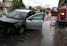 vehículo, autopista México-Puebla, San Jerónimo Caleras, daños materiales, Código Rojo, Nota Roja, Puebla, Noticias