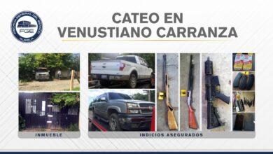 Venustiano Carranza, FGE, Sierra Norte, reporte de robo, vehículo, armas, inhibidor de señal, Código Rojo, Nota Roja, Puebla, Noticias