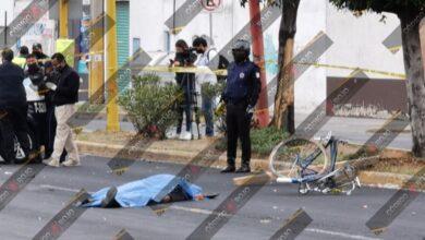 San Pedro Cholula, muerto, lesionado, ofiacial, hombre, bicicleta, embestir, traslado, Hospital Universitario, Código Rojo, Nota Roja, Puebla, noticias