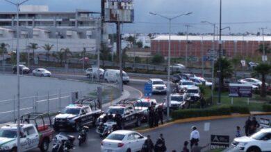 enfrentamiento, taxistas, clandestinos, ilegales, autorizados, disparo, San And´res Cholula, SSC, SSP, Código Rojo