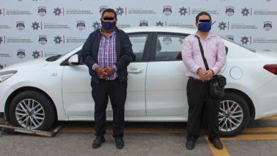 SSC, vehículo robado, Amozoc, Policías Municipales, Agente del Ministerio Público, Barrio de Santiago