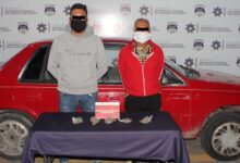 SSC, robo de vehículo, colonia Anzures, marihuana. Placas de circulación, patrullaje, hierba verde, ministerio público