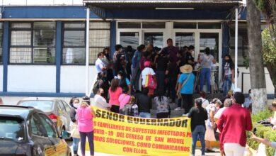 CIEPA, familiares, manifestación, comunicación, videollamadas, Código Rojo, Nota Roja, Puebla, noticias