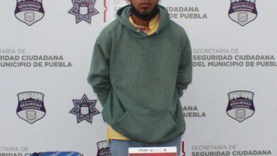 El Serpiente, detenido, robo, Elektra, Oxxo, San Andrés Cholula, Código Rojo, SSC