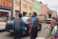 Elektra, robo, teléfonos celulares, Centro Histórico, Código Rojo, Nota Roja, Puebla, Noticias