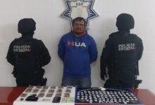 El Pelón, La Reina del Sur, operador, drogas, detenido, SSP, Código Rojo, Nota Roja, Puebla, Noticias