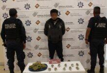 narcovendedor, El PElón, Filiberto, El Brujo, marihuana, motocicleta, alto, operativo, Código Rojo, Nota Roja